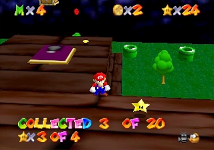 Super Mario 64: The Missing Stars ROM hack