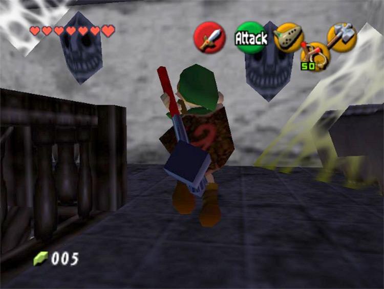 Zelda's Birthday ROM hack for Ocarina of Time