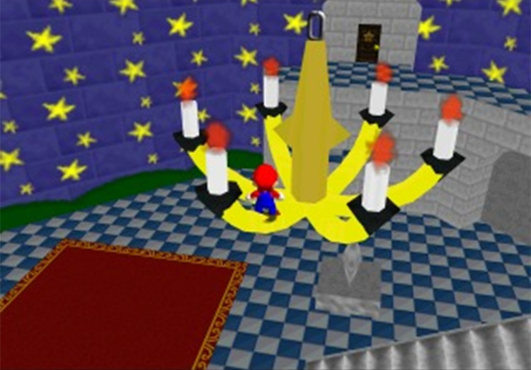 Super Mario: Star Road (SM64) ROM hack