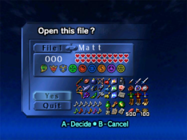 Ocarina of Time REDUX ROM hack