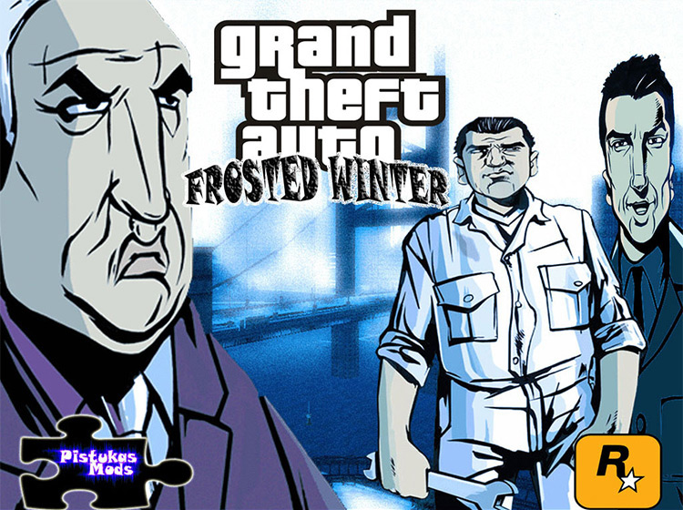 Frosted Winter GTA III mod