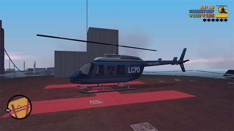 III Aircraft Grand Theft Auto III mod
