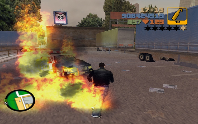Real Effects Grand Theft Auto III mod