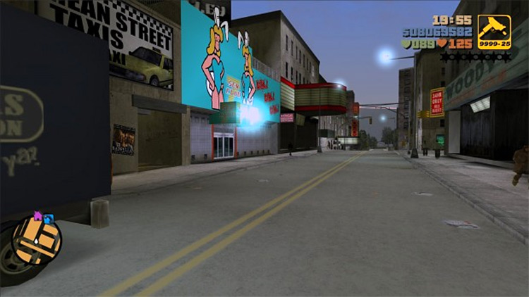 GTA 3 Natural HD Textures mod screenshot