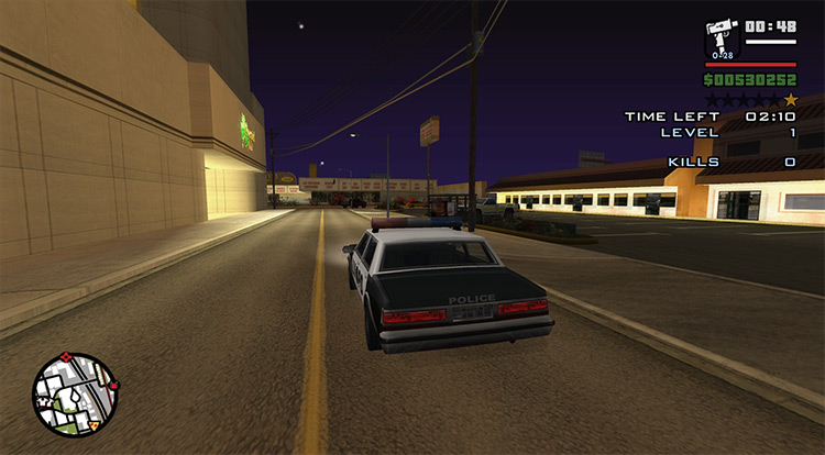 Widescreen Fix mod for Grand Theft Auto III