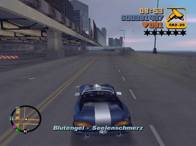 MP3 Control mod for Grand Theft Auto III