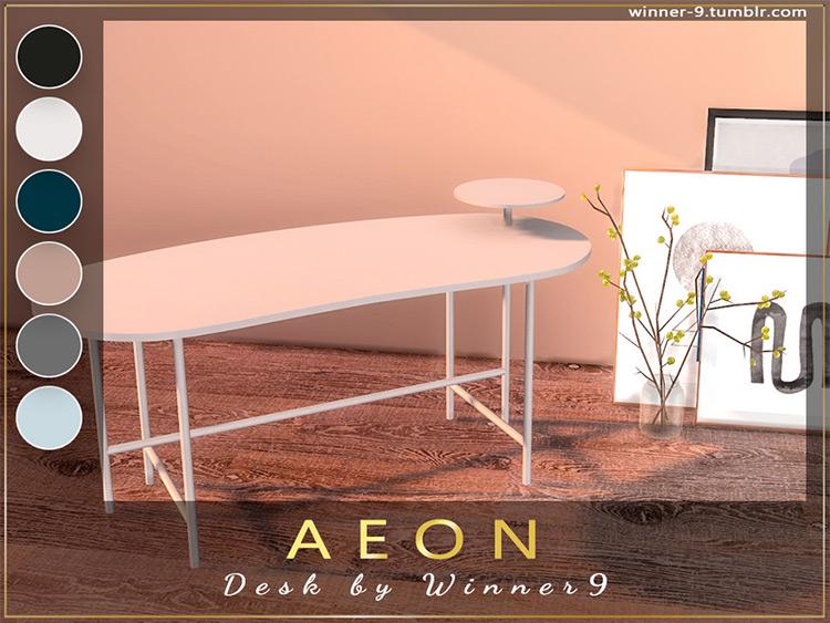 Aeon Desk - TS4 CC