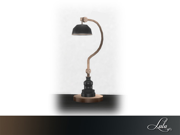 His & Hers Desk Lamp - Sims 4 CC