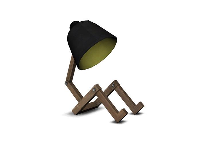 Neutral Light Lamp - Sims 4 CC