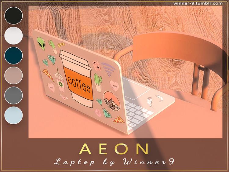 Aeon Laptop - Sims 4 CC