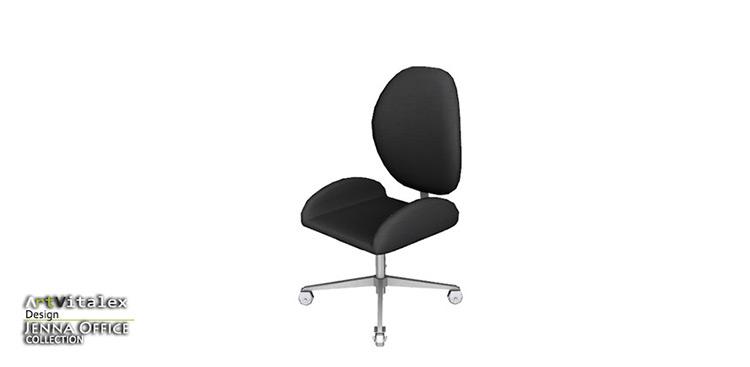 Jenna Office Chair - Sims 4 CC