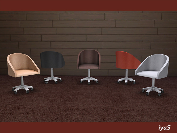 Office Desk Chair for TS4 CC