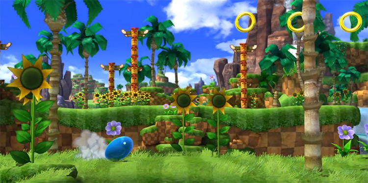HD Classic Sonic Improvement - Sonic Generations