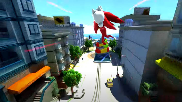 Real Knuckles - Sonic Generations mod