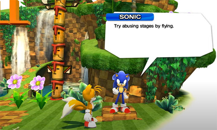 Real Tails for Sonic Generations
