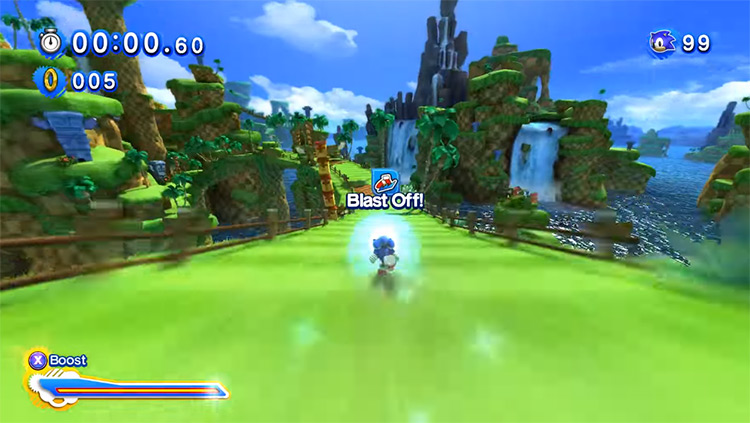 High-Res HUD - Sonic Generations