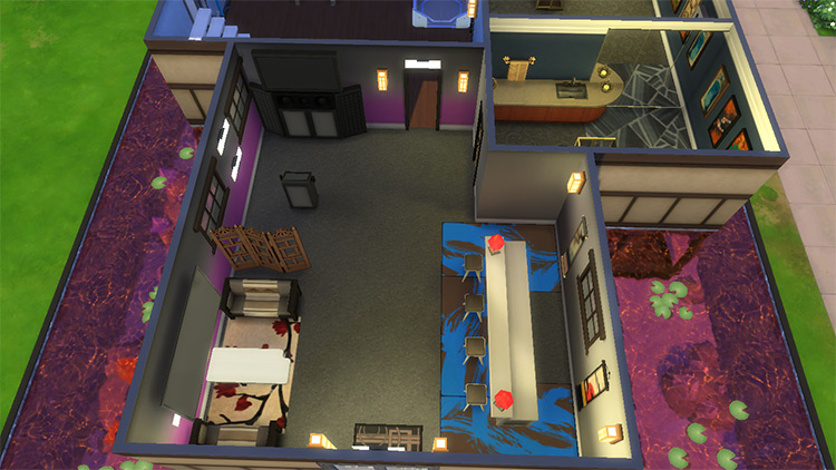 Otaku Hideaway - Sims 4 CC