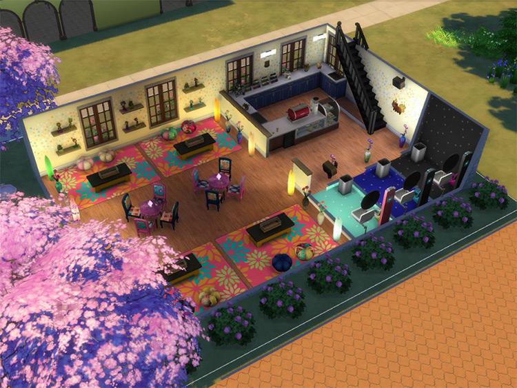 Kawaii Kafe - Sims 4 CC