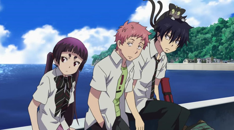 Ao no Exorcist (Blue Exorcist) Anime Screenshot