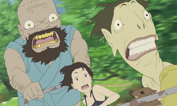 A Letter to Momo Anime Screenshot