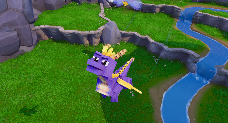 Minecraft Skin - Spyro Reignited Trilogy Mod