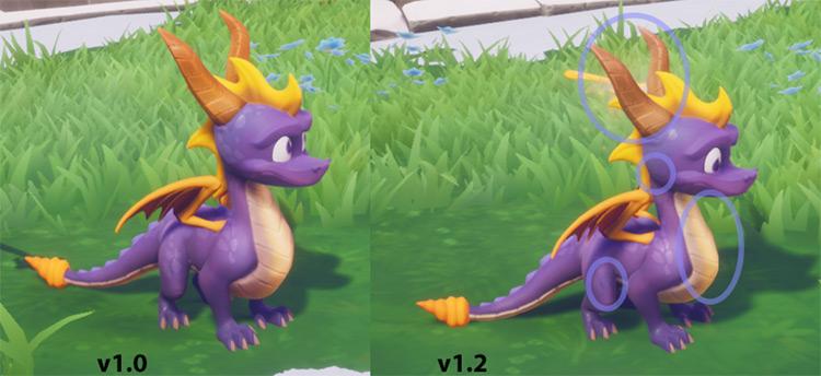 Classic Spyro Reignited Mod