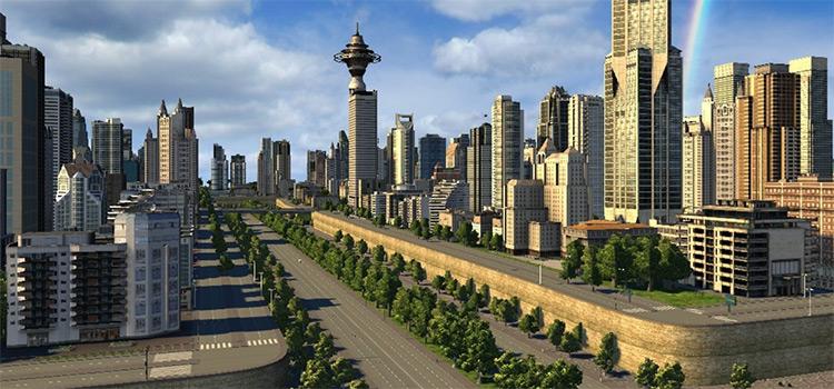 Screenshot of Cities XXL modded gameplay
