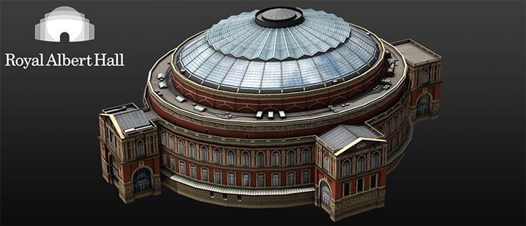 Royal Albert Hall - Cities XXL Mod