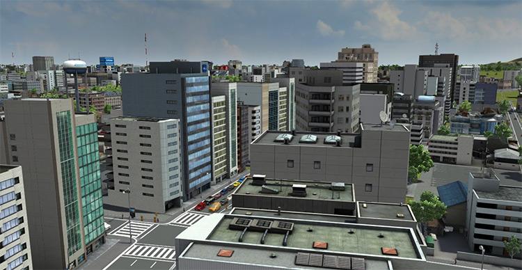 XL Building Pack A - Cities XXL Mod