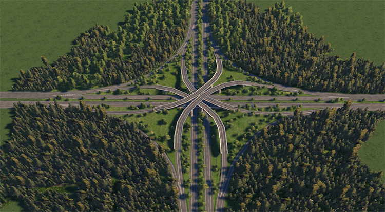 XXL Realistic Highway - Cities XXL Mod