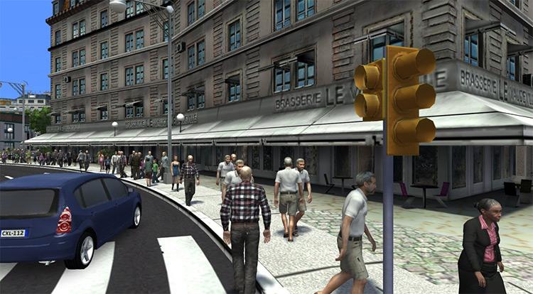 Human Citizens - Cities XXL Mod Screenshot