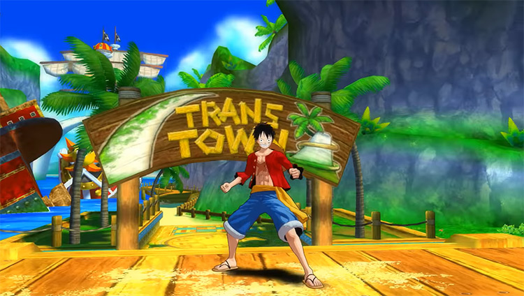 One Piece: Unlimited World Red (Deluxe Edition) Game Screenshot