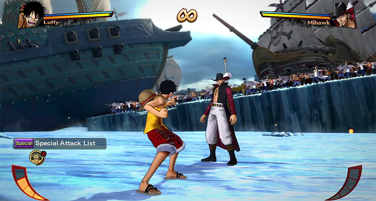 One Piece: Burning Blood Game Screenshot