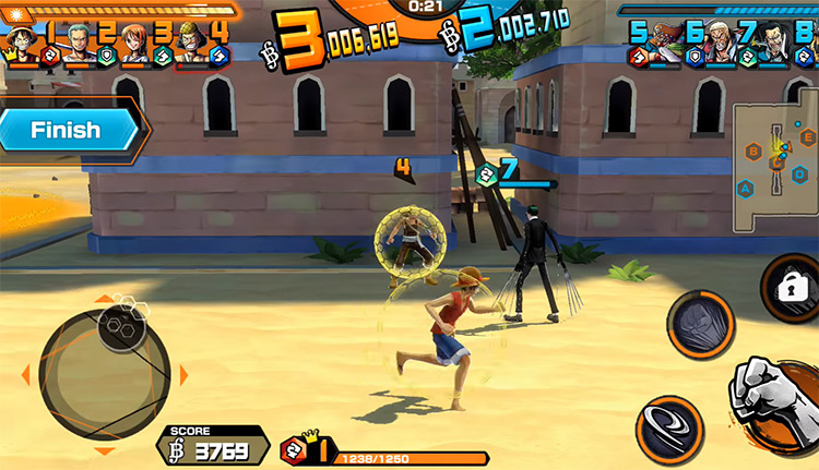 One Piece Bounty Rush Screenshot