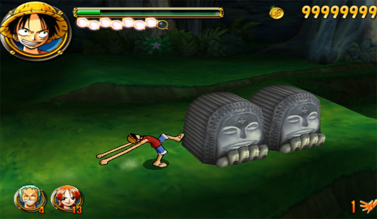 One Piece: Round the Land Game Screenshot