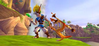 Jak & Daxter original gameplay screenshot
