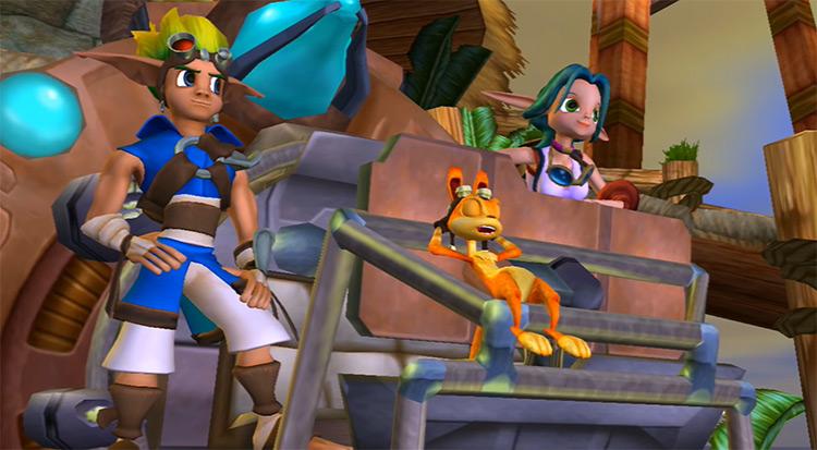 Jak II - Game Screenshot