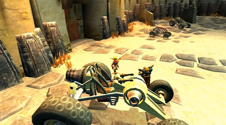 Jak 3 - Game Screenshot