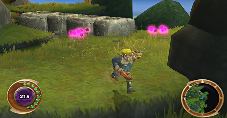 Jak And Daxter: The Lost Frontier - Game Screenshot