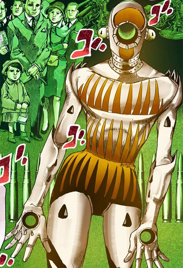 Milagro Man Stand in JoJo