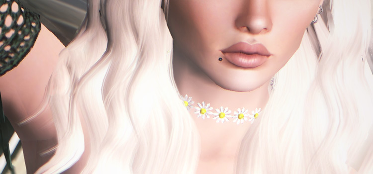 Bleach blonde party girl hair - TS4 CC