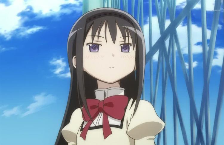 Akemi Homura from Puella Magi Madoka Magica anime
