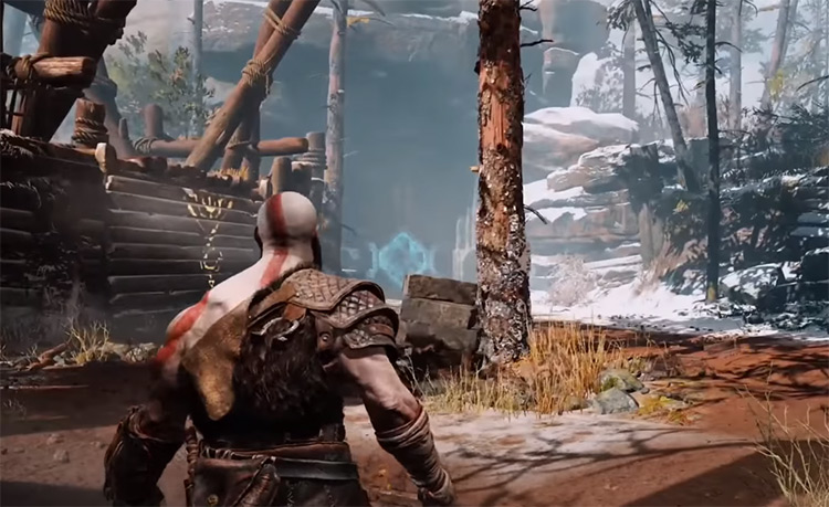 God of War 2018 gameplay screenshot