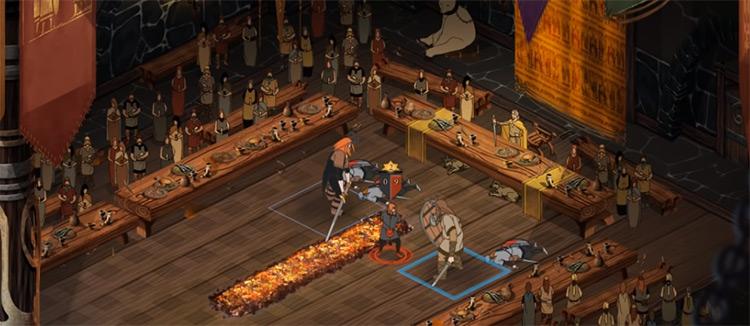The Banner Saga gameplay screenshot