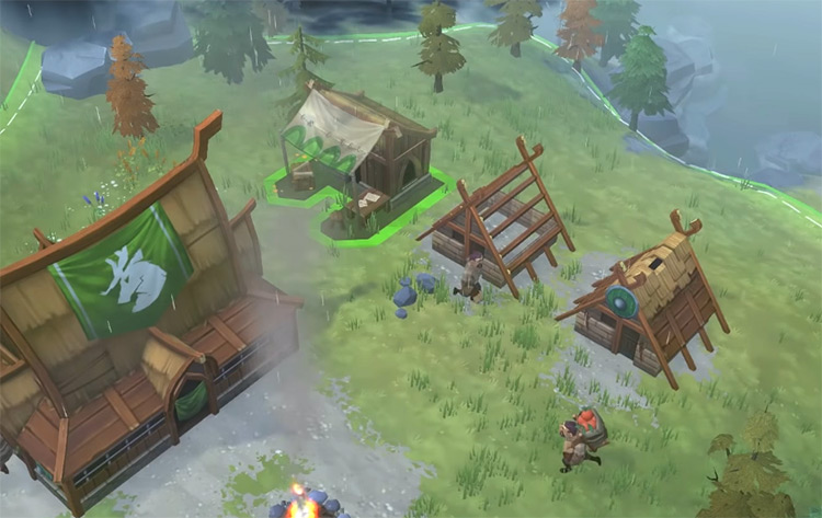 Northgard 2018 gameplay screenshot