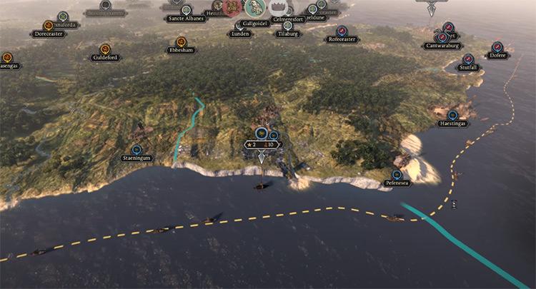 Total War Saga: Thrones of Britannia gameplay