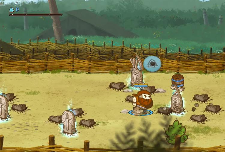 Die For Valhalla gameplay screenshot