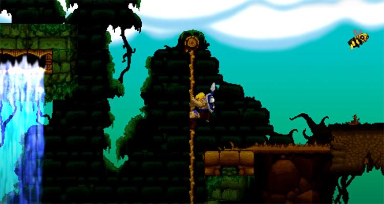 Volgarr the Viking video game screenshot
