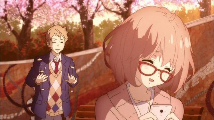 Mirai Kuriyama Beyond the Boundary anime screenshot