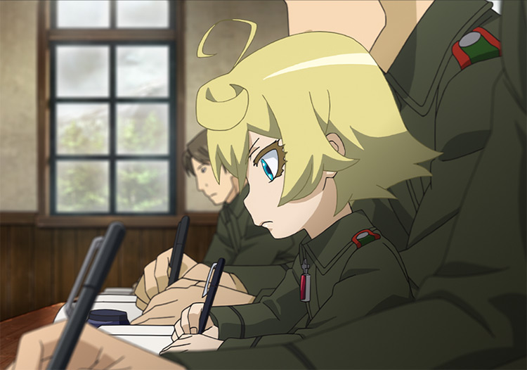 Tanya Von Degurechaff anime girl screenshot